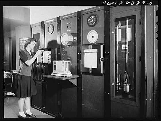 Washington Weather Bureau circa 1943